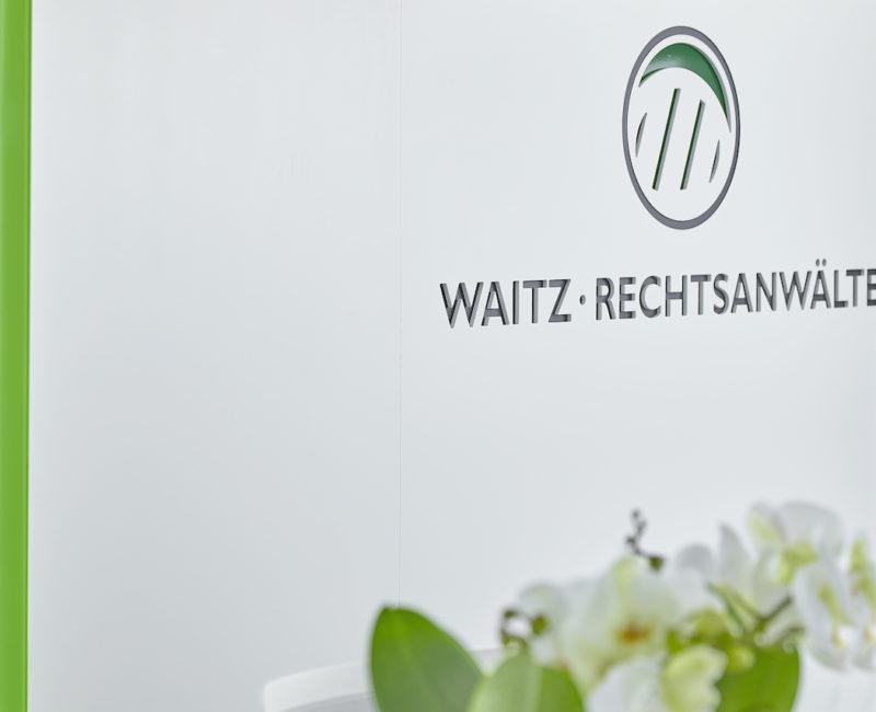 Logo Empfang Waitz Rechtsanwälte • Rechtsanwalt Linz - Ihre Alternative im Wirtschafts- und Steuerrecht.
